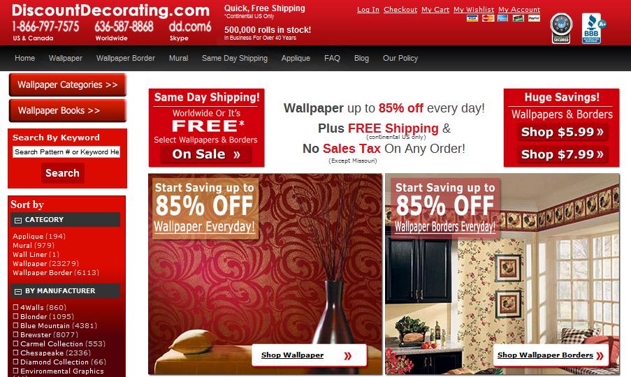 Discount Decorating
