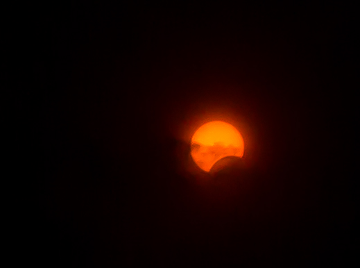 Solar Eclipse Image - from Boulder, Colorado