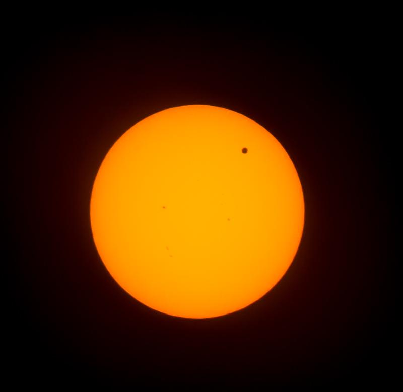 Venus Transit Image 2012
