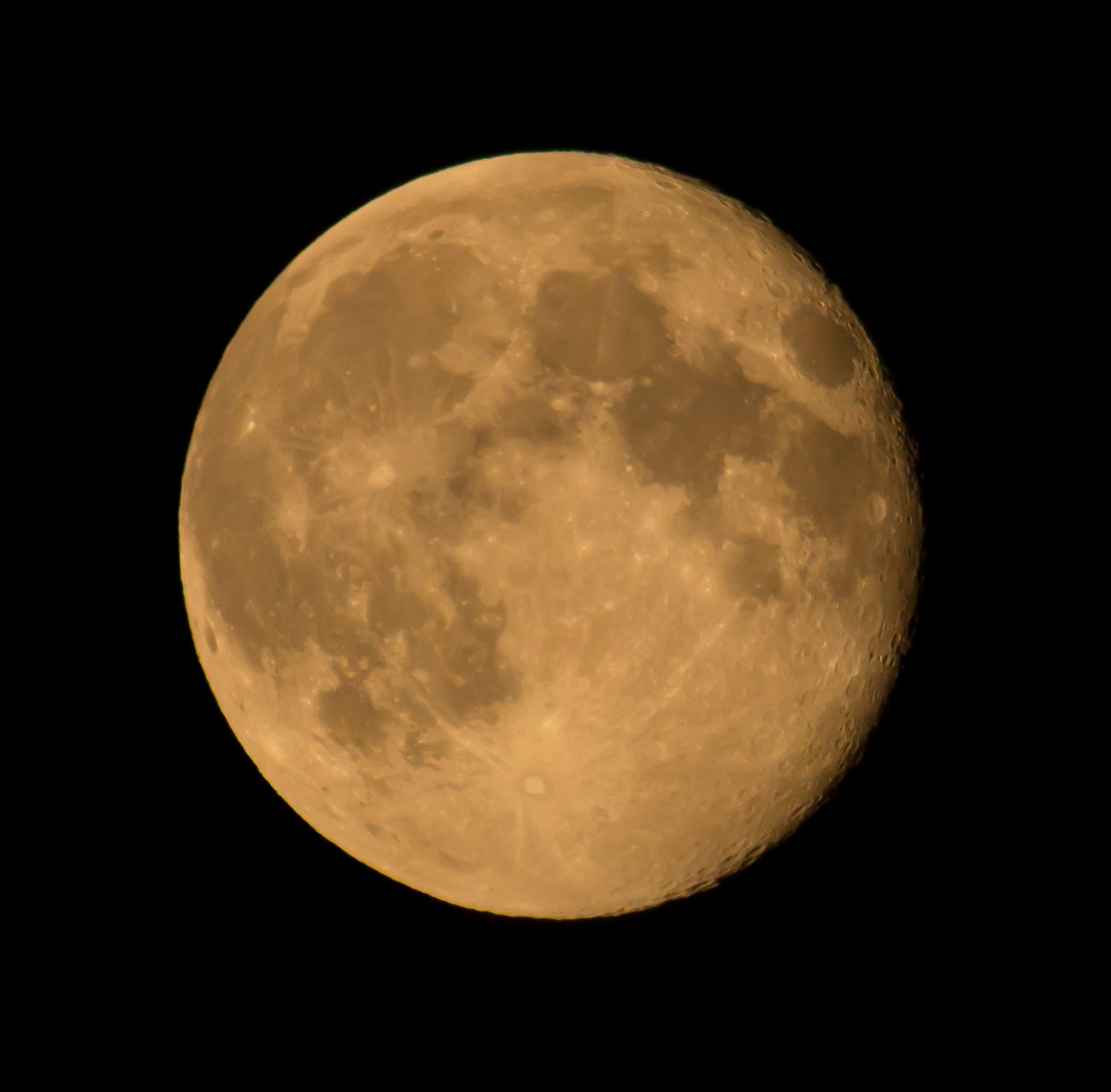 Full Moon: Boulder Full Moon Shot