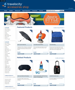 Travelocity Accessory Shop - Magento Development