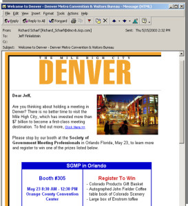 614-Mile-High-City-of-Denver-HTML-email-campaign