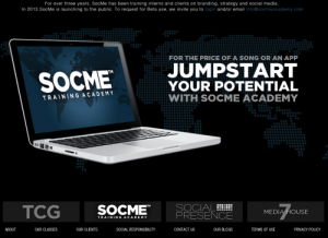 SocMe-Homepage