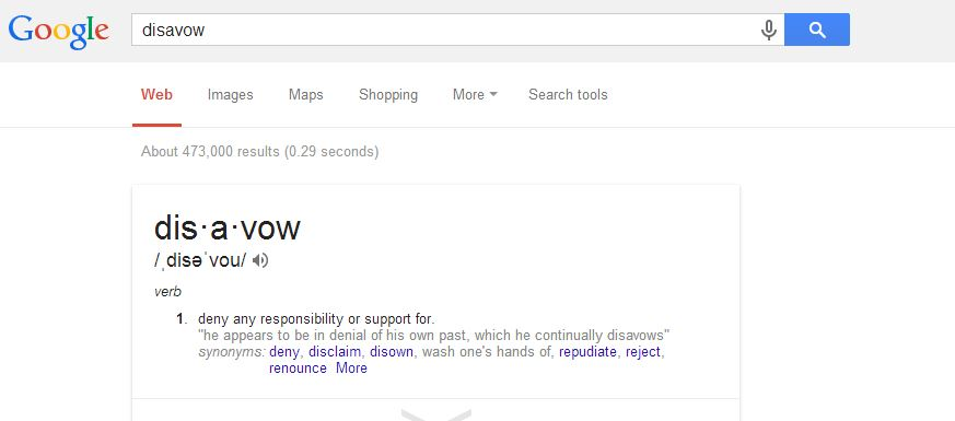 Using Google Disavow Tool to Get Rid of Bad Links