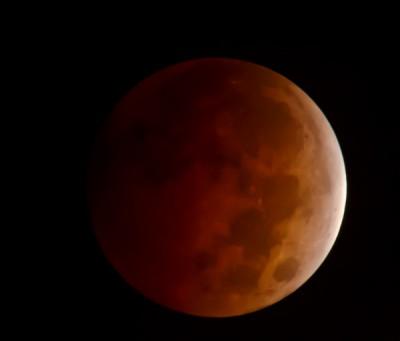 Blood Moon – Full Moon Lunar Eclipse Photos from Oct 8, 2014