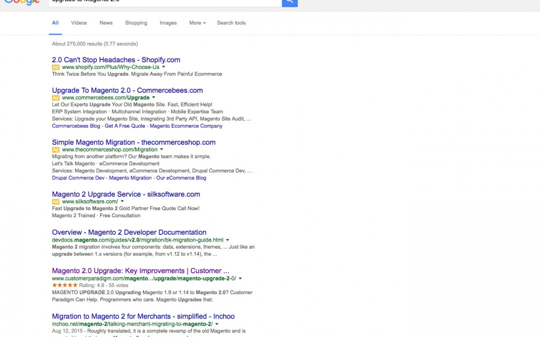 Google Changes PPC Listings, Removes Right Hand Ads