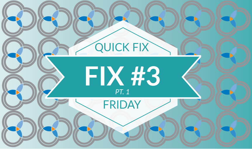 "Quick Fix Friday #3 – Creating Pages & Static Blocks as a ""Non-Tech"" Admin User (Pt. 1)"