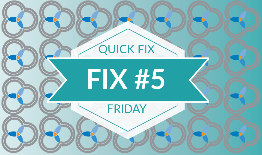 Quick Fix Friday #5 – The Sub-Domain Switch