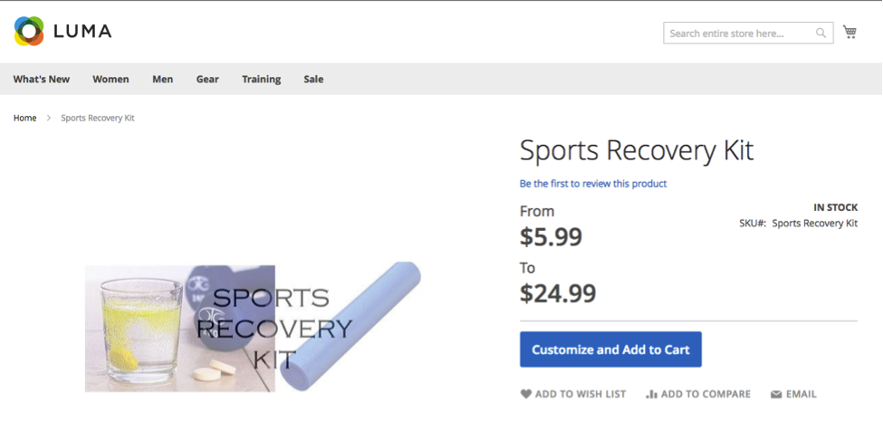 Sports Recovery Kit Bundle Product