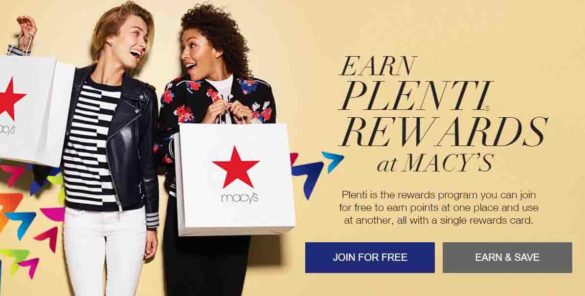 Macy's Rewards Program Example