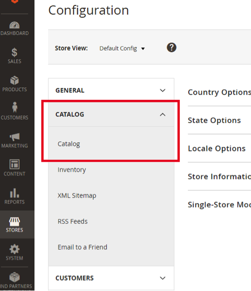 Configure Popular Search Terms Catalog