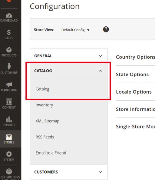 Configure Popular Search Terms Catalog
