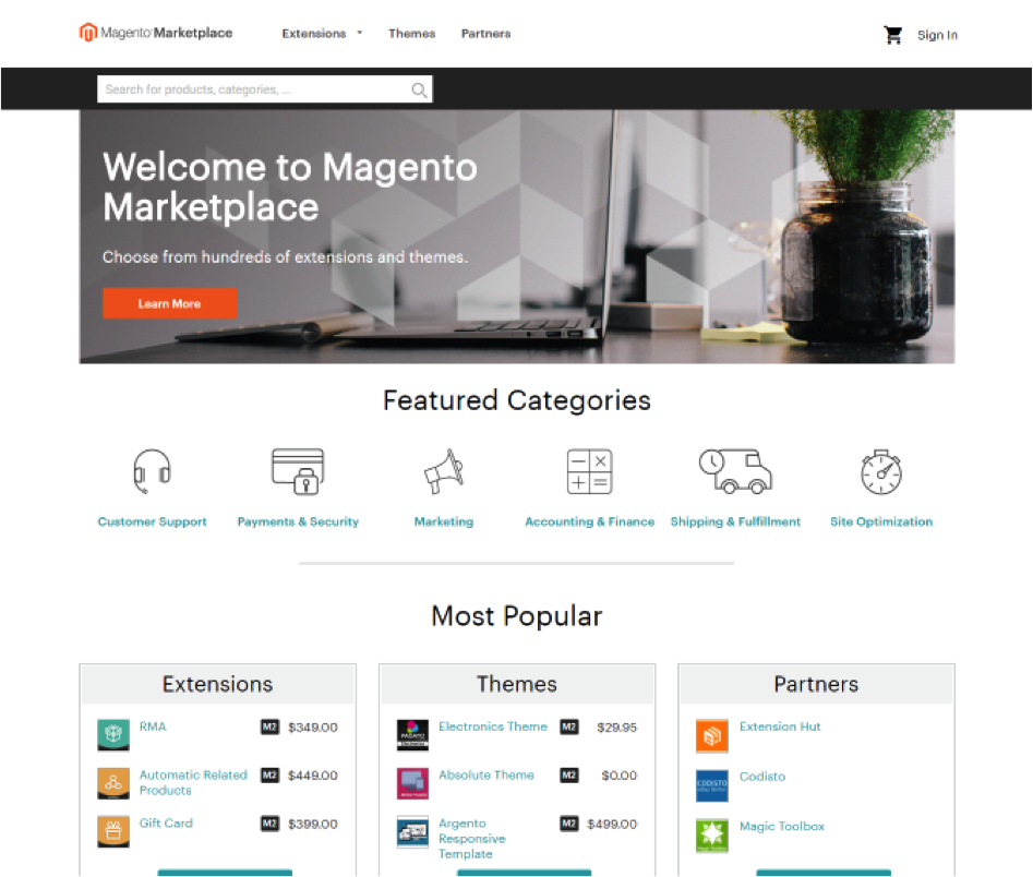The Magento Extension Marketplace
