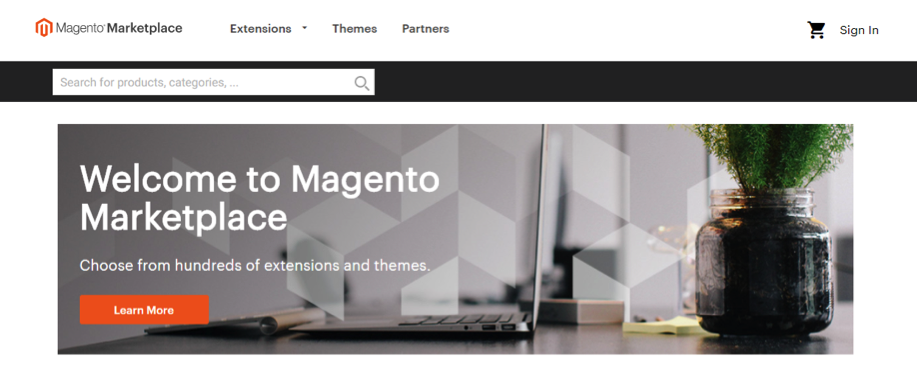 New Magento Maretplace