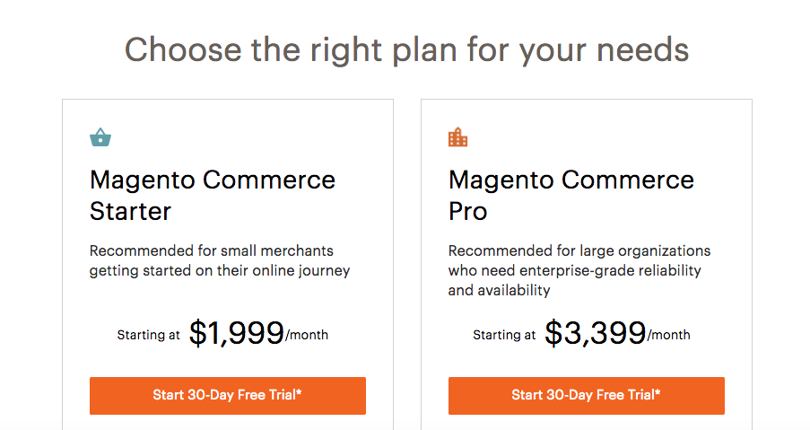 Magento Commerce Payment Tiers