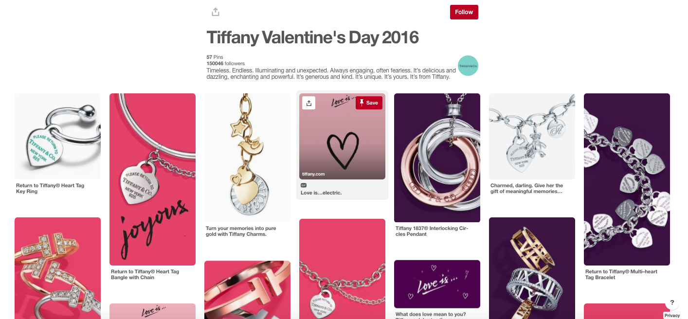 Tiffany and Co Valentines Day Gift Guide