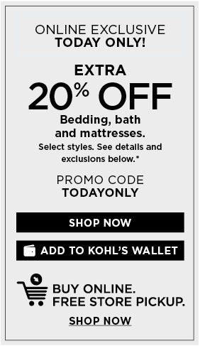 Limited Time Email Offer from Kohls