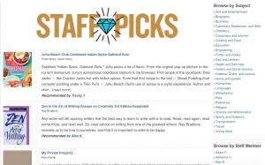 Staff Picks Blog