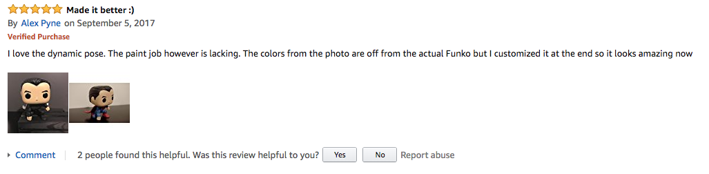 Amazon Review That Includes Photos