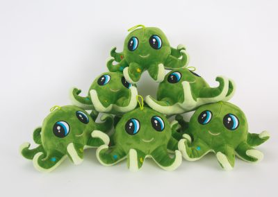 Pyramid of Green Octopuses