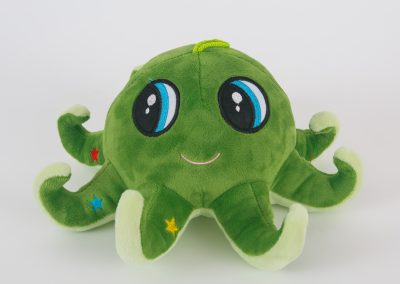 Green Octopus Plush Toy