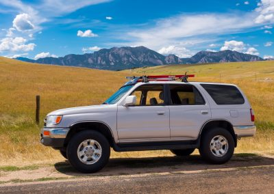 4Runner and the Mountains