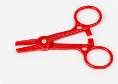 Red medical clamp for eCommerce site