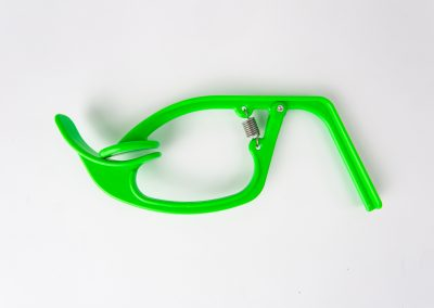 Green Medical Spring Clamp