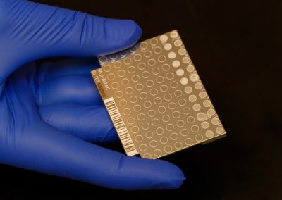 Biomedical test device