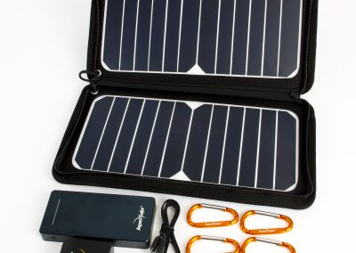Solar Power Mini Kit Product Photography